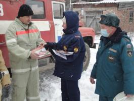 Добровольные пожарные есть в селе Енисейское